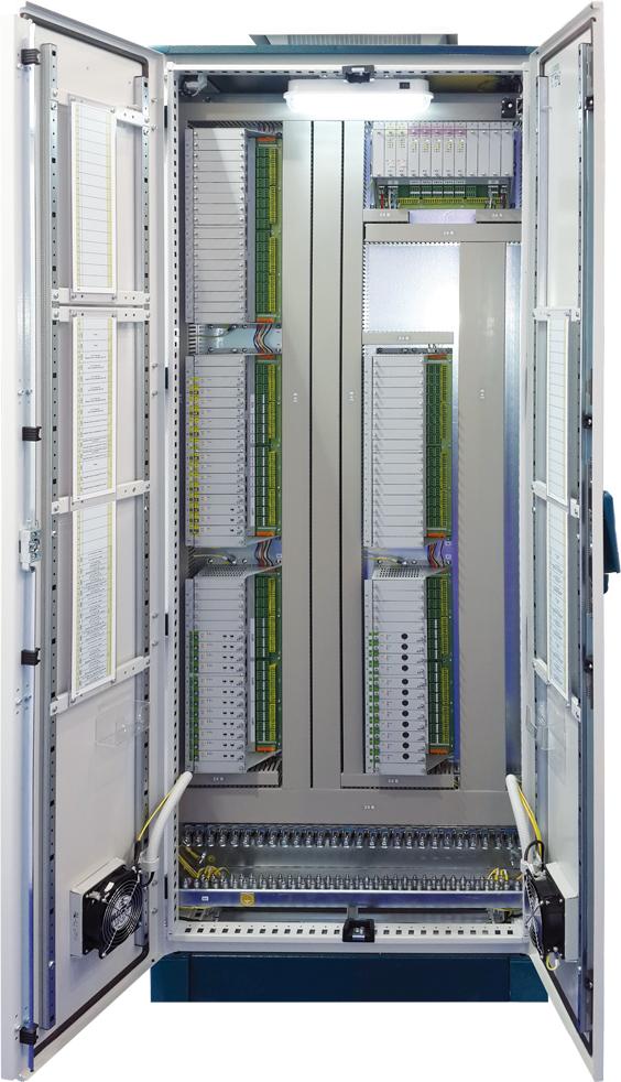 Шкаф УСО на базе контроллеров МКСО