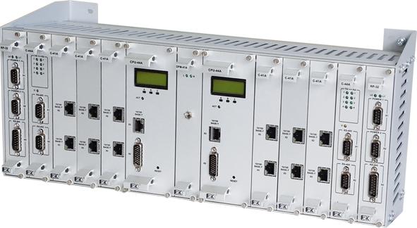 Резервируемый центральный контроллер с двухшинной организацией
