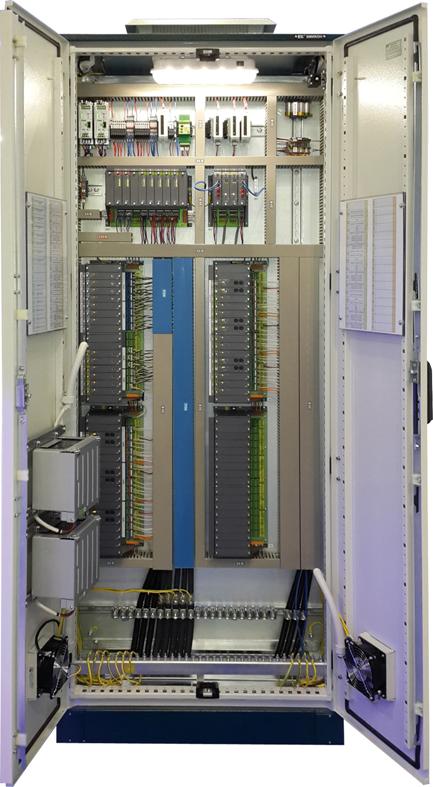 Типовой шкаф УСО на базе контроллера МКСО